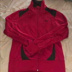 Pink Puma Sports Jacket